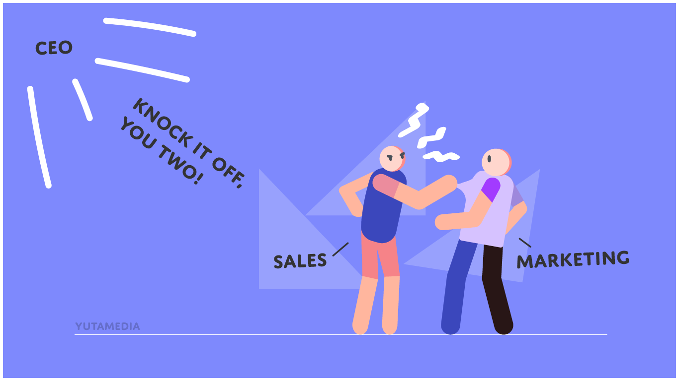 Sales and Marketing Rivalry