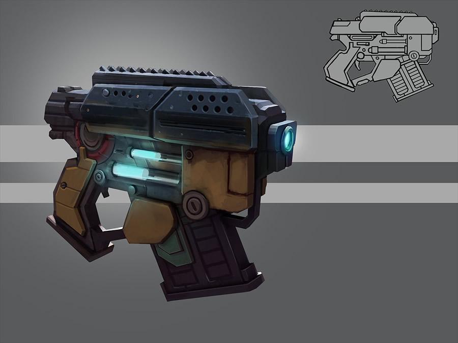 Cool Futuristic Weapon Designs