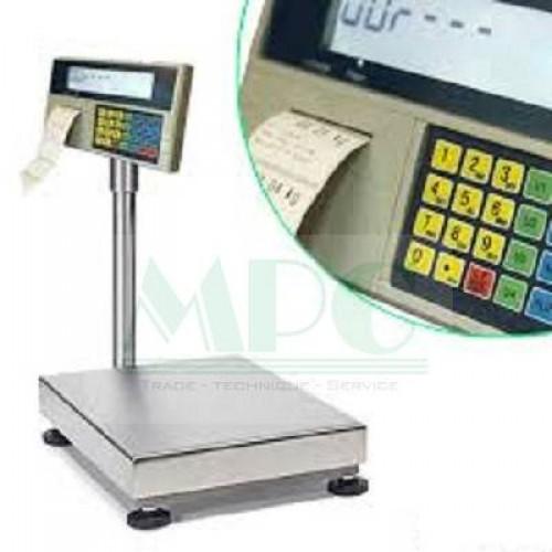 Một mẫu cân tính tiền kết hợp máy in