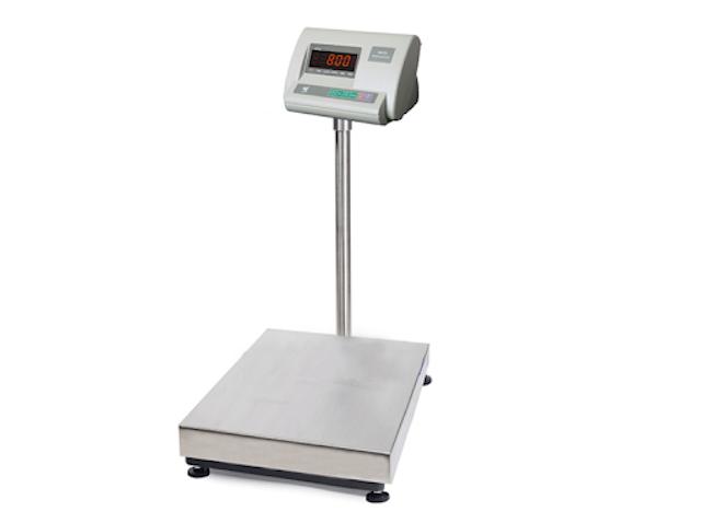 Cân bàn điện tử có thể cân hàng hoá có trọng lượng từ 30kg đến 500kg