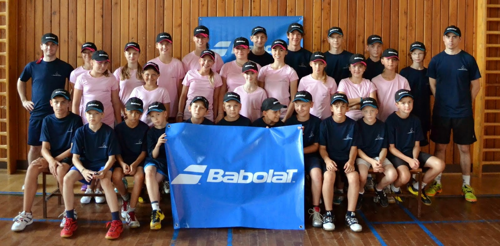 """Letní soustředění """"Babolat Summer camp 2014"""""""