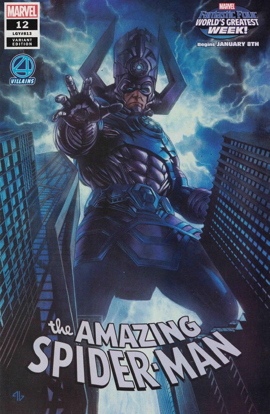 Image result for amazing spider man 12 galactus