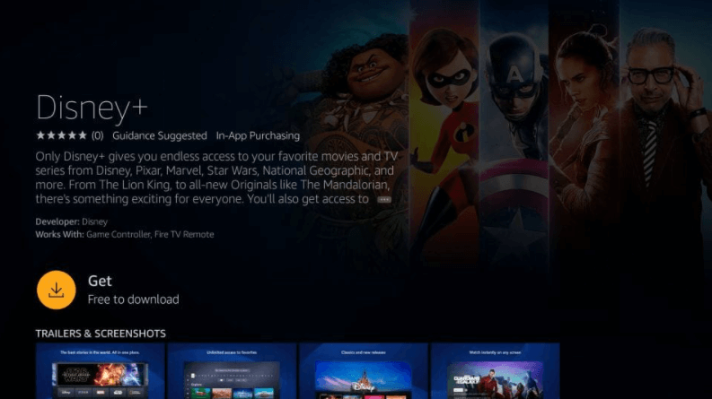 How to Install Disney+ on Amazon Fire Stick / TV 4
