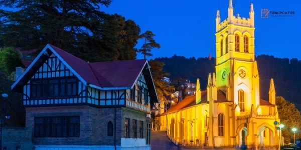 Shimla - Most Famous Tourist Places in India