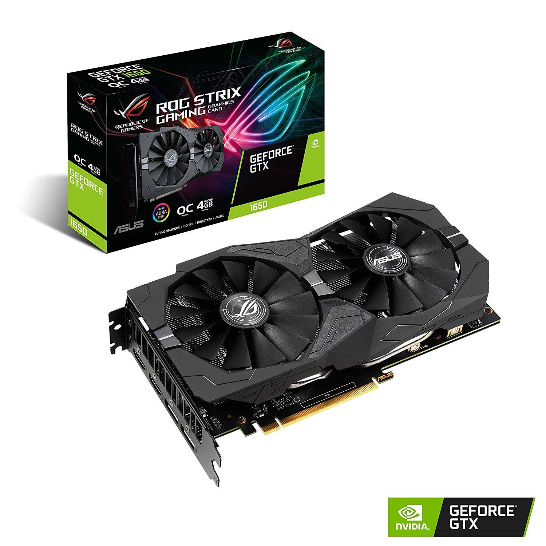 ASUS ROG Strix GeForce GTX 1650 Overclocked 4GB Graphics Card