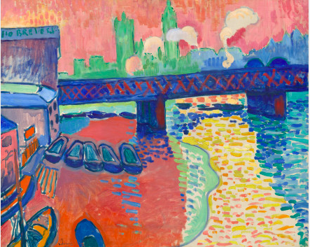 Andre Derain (1880-1954)  Charing Cross Bridge, London, 1906