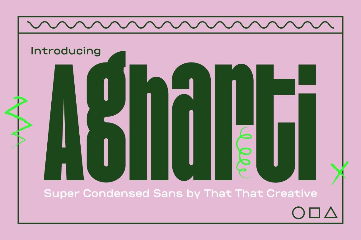 pink type card