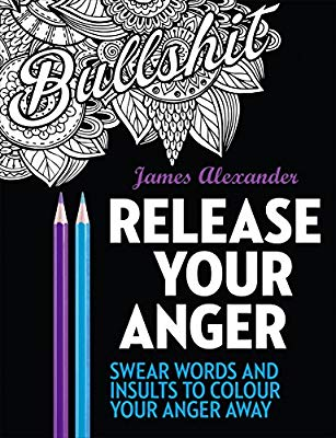 Colouring book for anxiety relief