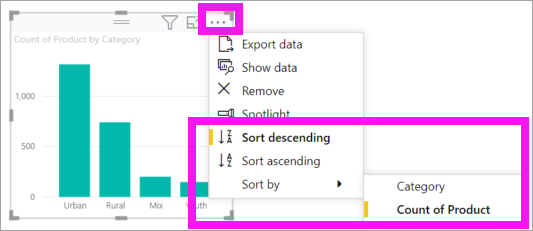 Screenshot of the More actions dropdown.