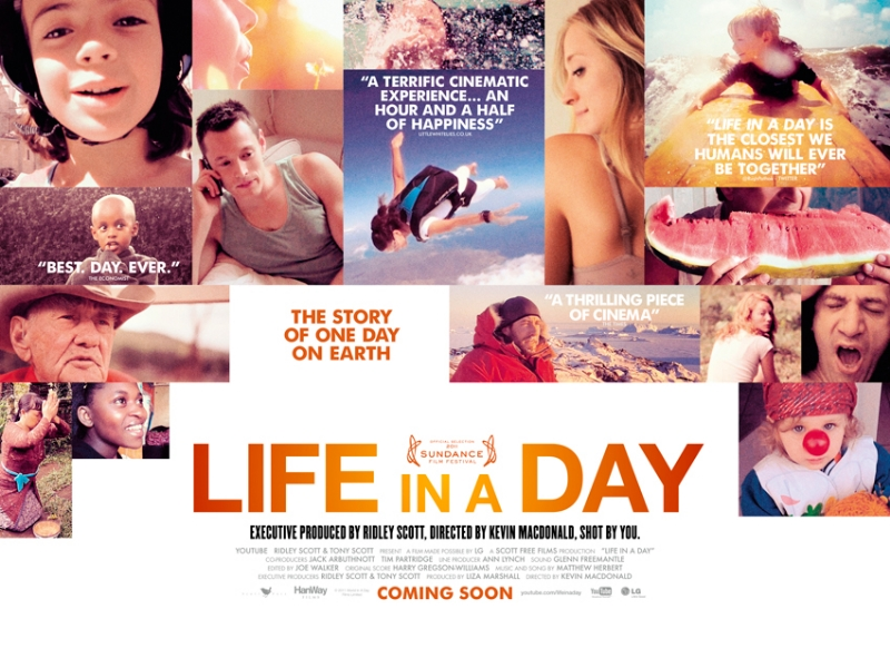 Sundance Life in a Day movie poster