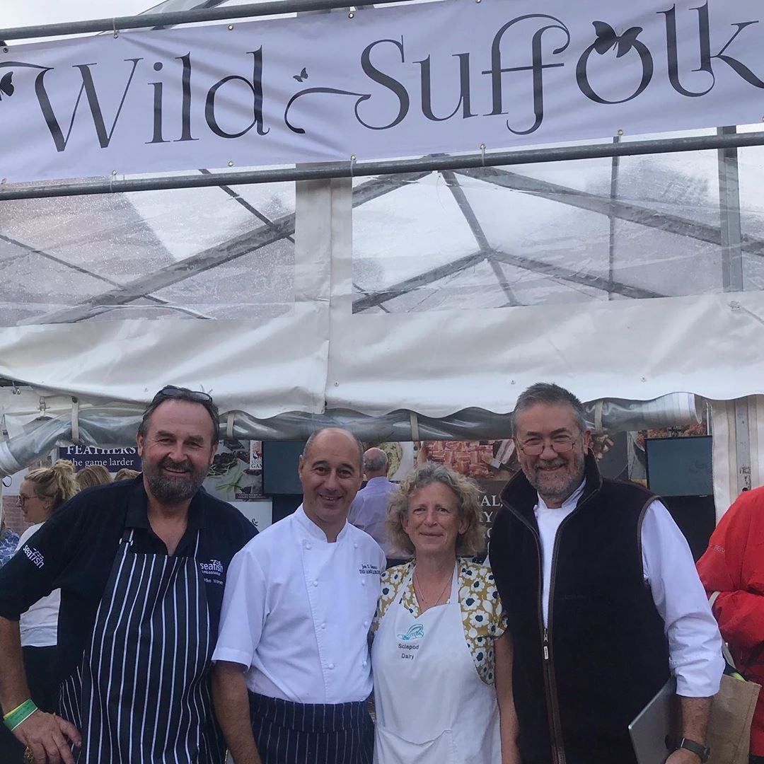 Wild Suffolk at the Aldeburgh Food & Drink Festival
