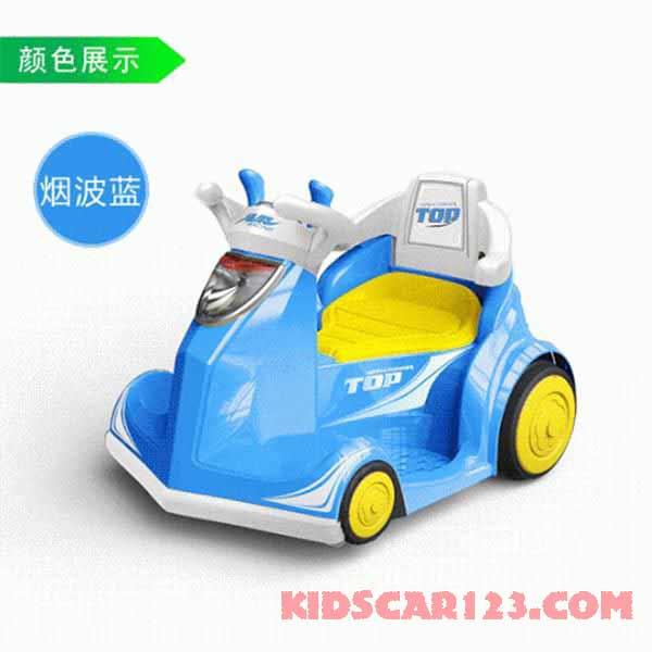xe đụng điện 4 bánh b088a màu xanh dương