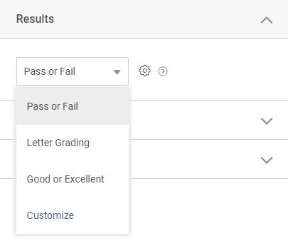 Customizing Result Type
