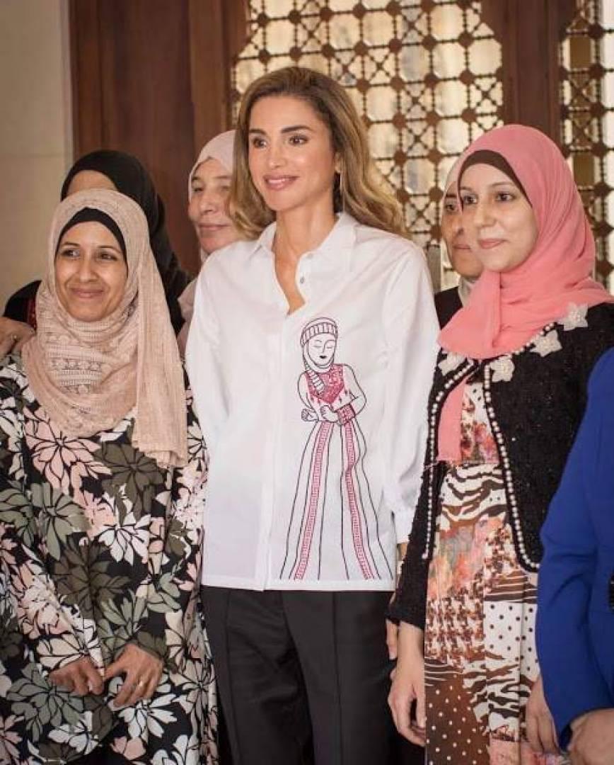 نتيجة بحث الصور عن الملكة رانيا سليم عزام