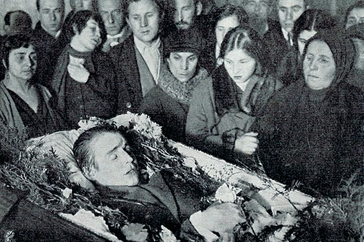 death of Sergei Yesenin 2a