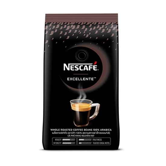 5. เมล็ดกาแฟ เนสกาแฟ เอ็กเซลเลนท์เด้