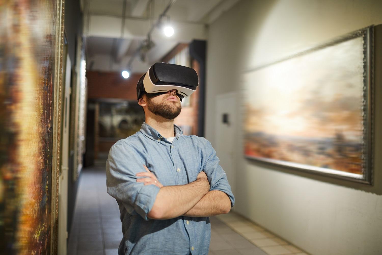 Uso de la realidad aumentada en un museo de arte