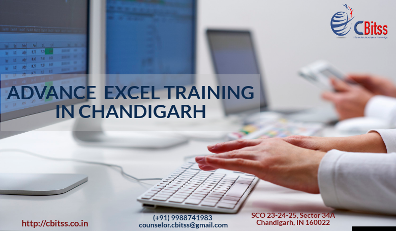 Advance excel training in Chandigarh