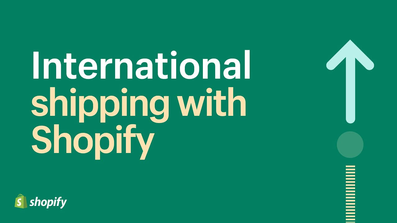 how to install Shopify international shipping