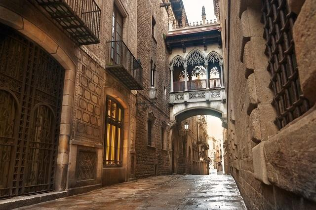 Image result for gothic quarter barcelona