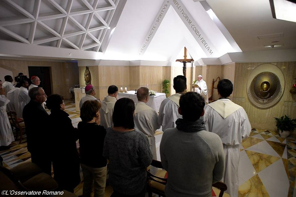 Đức Thánh Cha Phanxico: Tình yêu của Thiên Chúa tín trung vượt ra ngoài mọi lý do