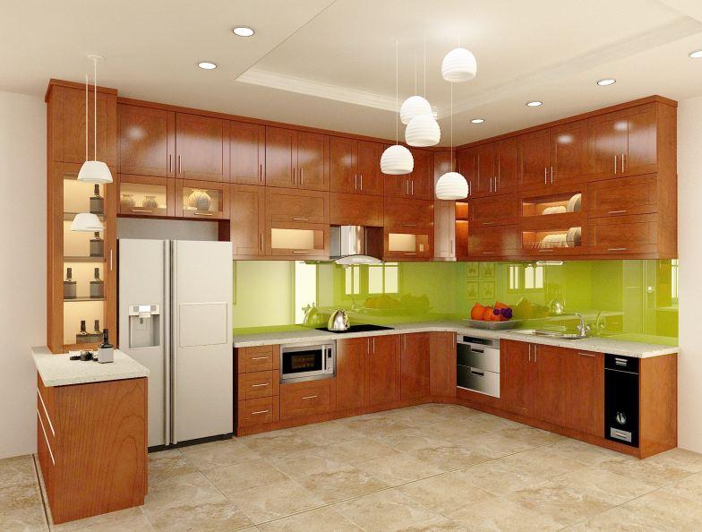 Tổng hợp các mẫu tủ bếp đẹp hiện đại được yêu thích nhất