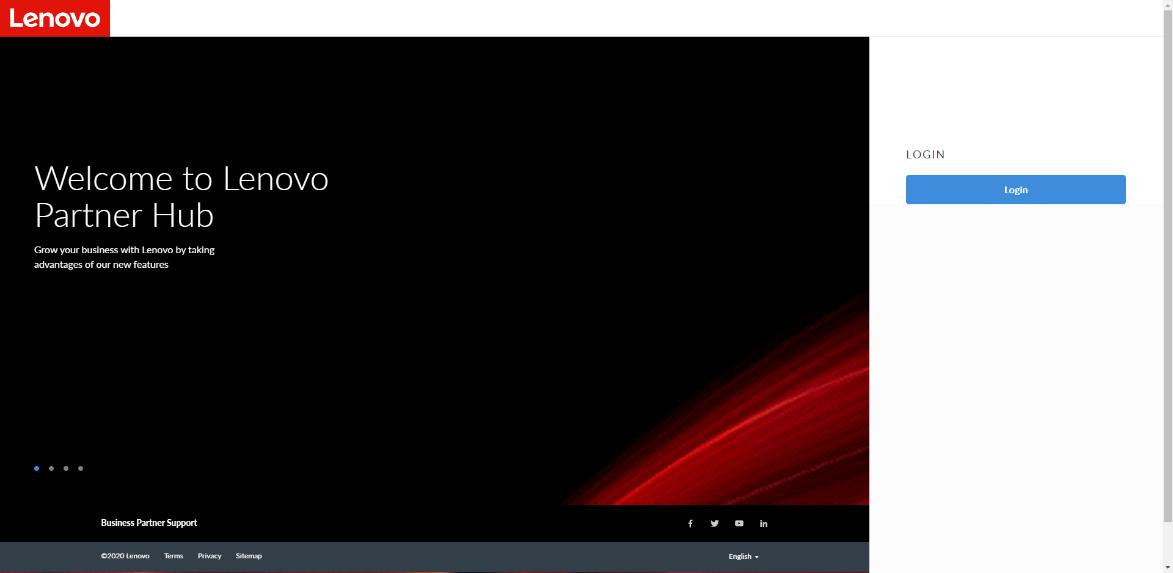 Lenovo ™ lança novo Global Partner Hub, fornecendo uma transformação personalizada e em tempo real da ferramenta de vendas