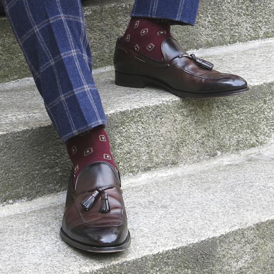 Tassel loafers buty dla mężczyzn