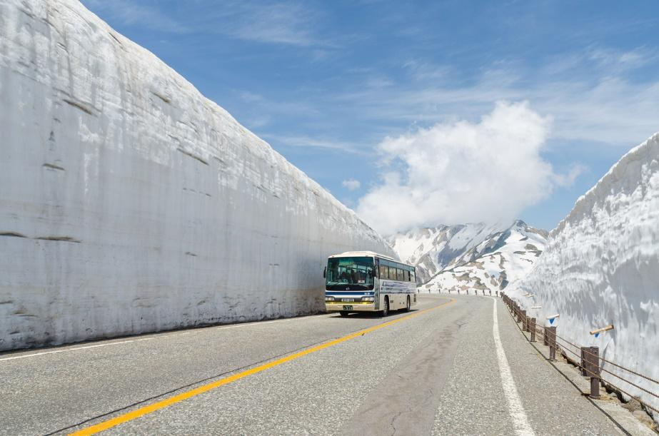 Tour Bus in Tateyama