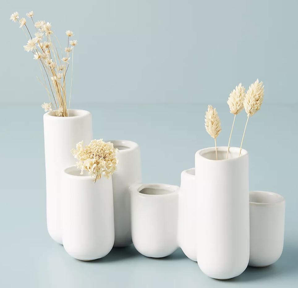 luna cluster bud vases by Anthropologie