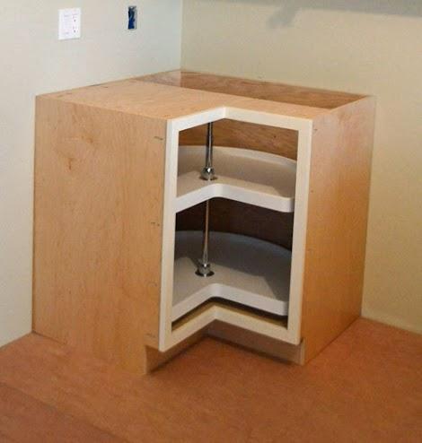 "Ana White | 36"" Corner Base Pie Cut Kitchen Cabinet ..."