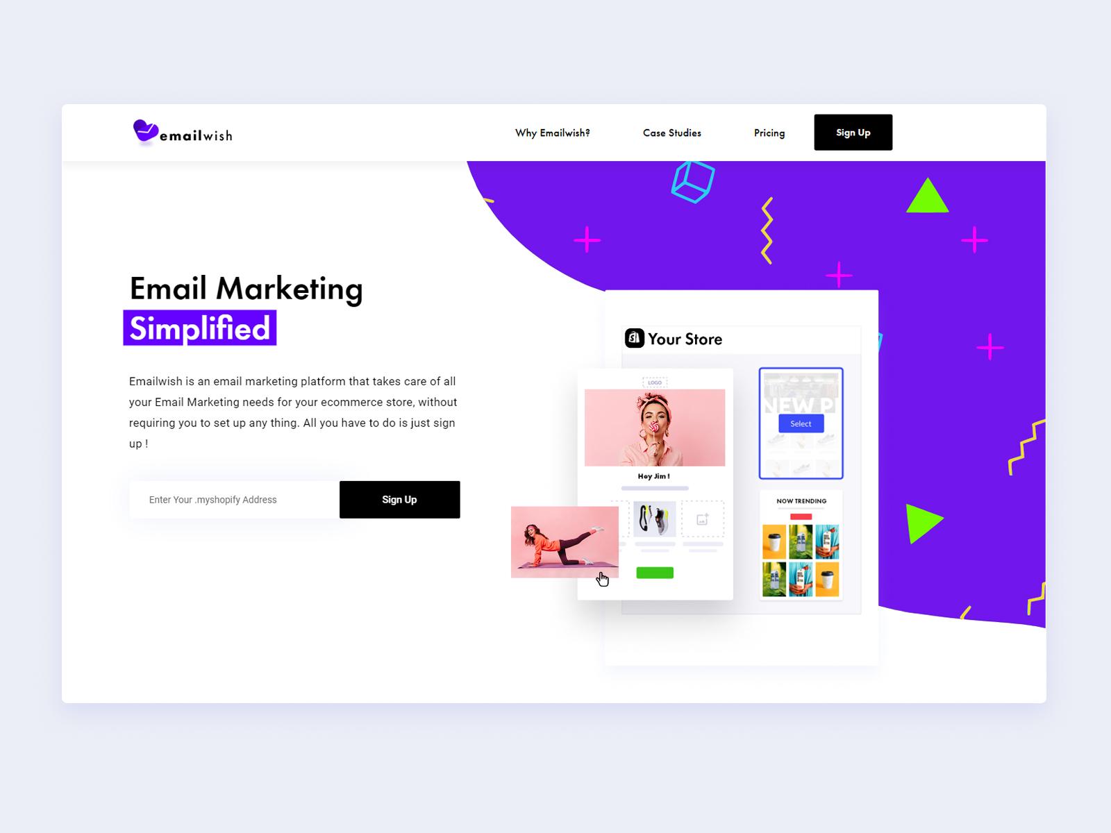 Emailwish website