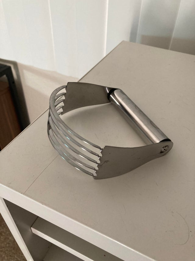 a kitchen tool called a pastry cutter from Reddit