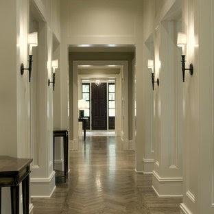Traditional Light Effect for Hallway Wall Decor Ideas
