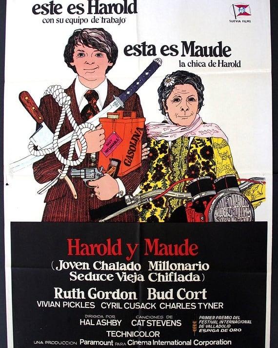 Harold y Maude (1971, Hal Ashby)