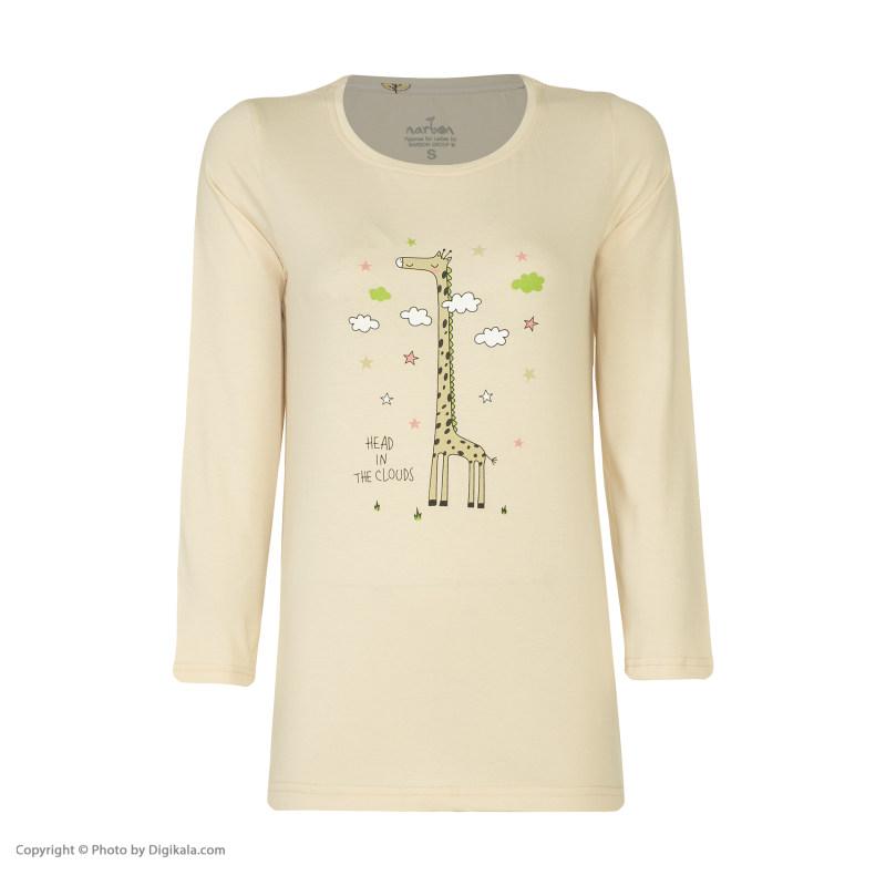 ست تی شرت و شلوار زنانه ناربن مدل 1521344-07