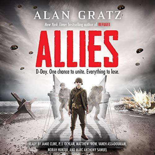 Allies audiobook cover art