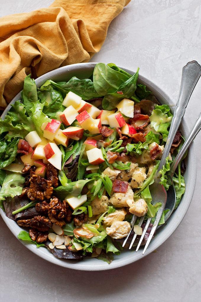 Honey Mustard Chicken Salad   lifemadesimplebakes.com