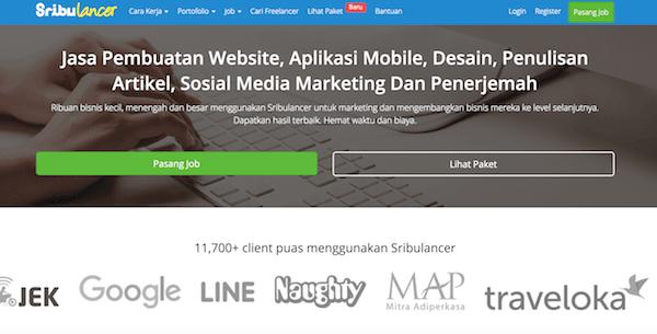 situs freelance indonesia sribulancer dewaweb