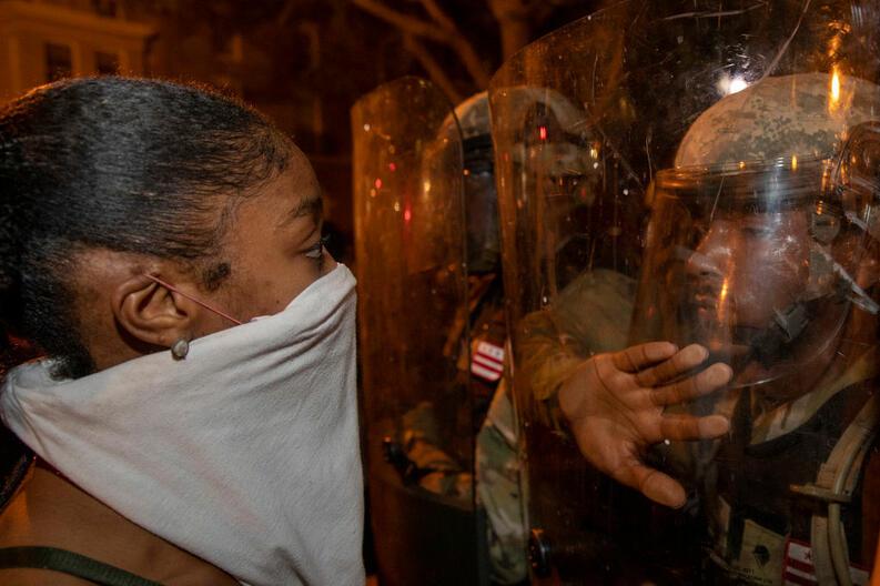 protestas george floyd black lives matter mayo 31 2020 white house washington dc 02