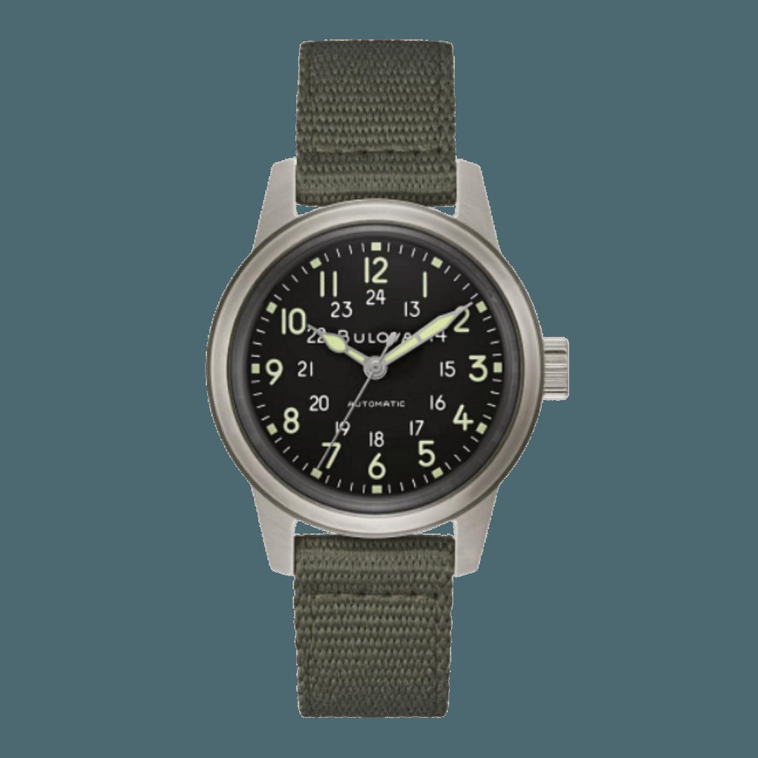 Modern field watch style