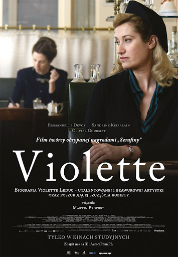 Polski plakat filmu 'Violette'