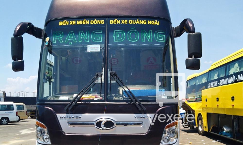 Xe Rạng Đông Buslines đi Quảng Ngãi