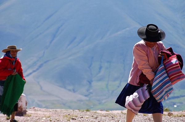 habitantes de la Puna argentina