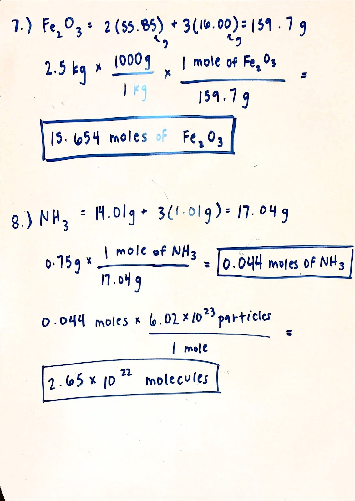 We finished up week four with the empirical formula lab, where we had ...