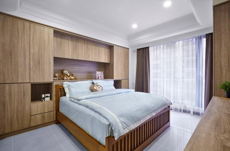 北歐風臥室4大特性挑選簡單線條的傢俱營造乾淨俐落的臥室