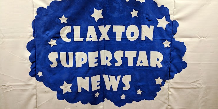 Claxton Superstar News logo