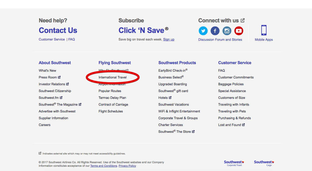 Southwest-Airlines-main-page-limited-access-without-vpn.png