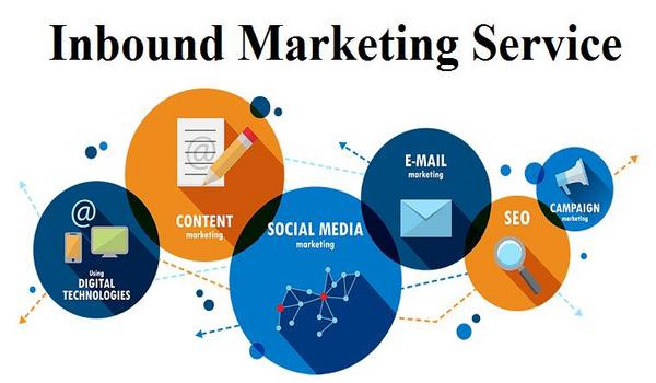 Inbound Marketing sử dụng nhiều hình thức tiếp thị khác nhau