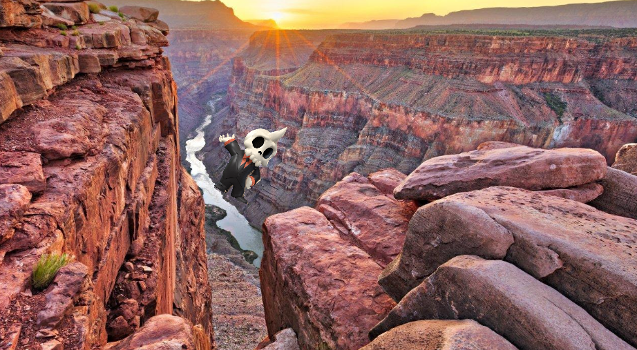 Bob Jumps Grand Canyon!